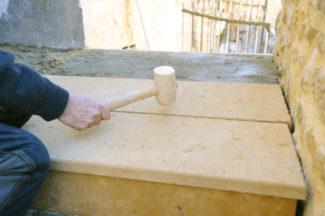 escalier en pierre-87-Bricolage avec Robert