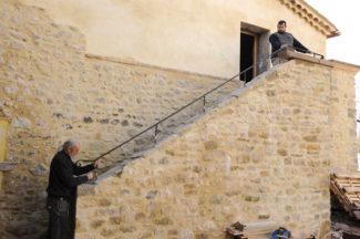escalier en pierre-97-Bricolage avec Robert