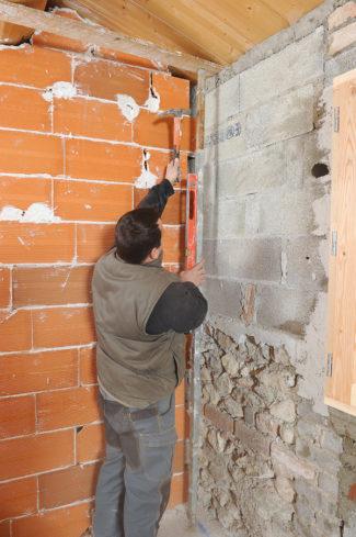Bricolage avec Robert-Doublage mural en briques-31