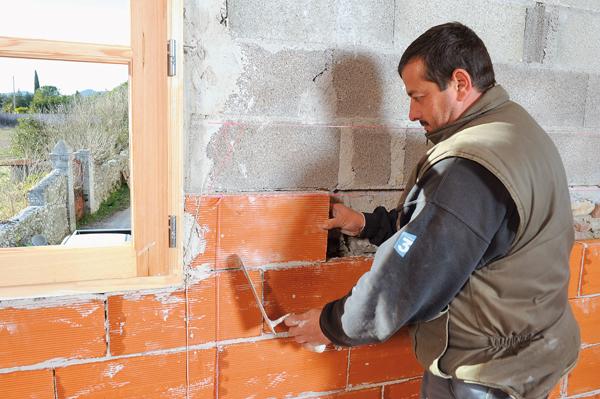 Bricolage avec Robert-Doublage mural en briques-45