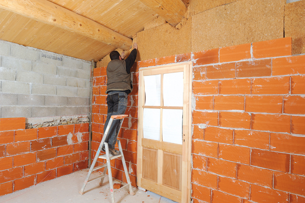Bricolage avec Robert-Doublage mural en briques-59