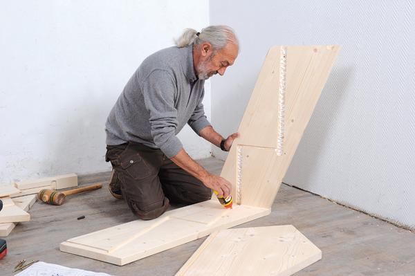 Bricolage avec Robert-escalier en bois-06