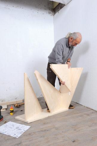 Bricolage avec Robert-escalier en bois-08