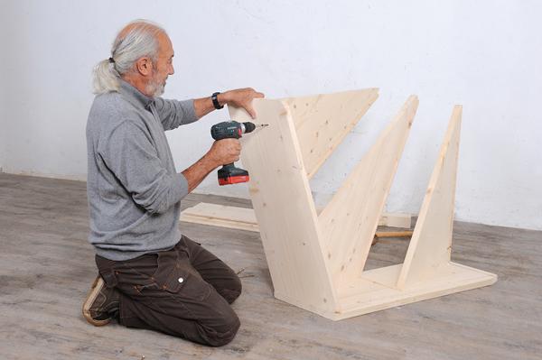 Bricolage avec Robert-escalier en bois-09