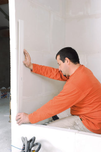 Bricolage avec Robert-mur en brique de verre-03