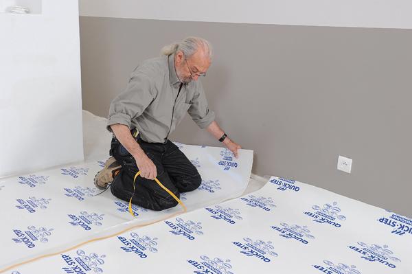Poser des dalles au sol-bricolage avec robert-06