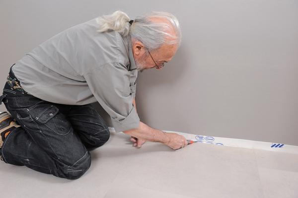 Poser des dalles au sol-bricolage avec robert-46