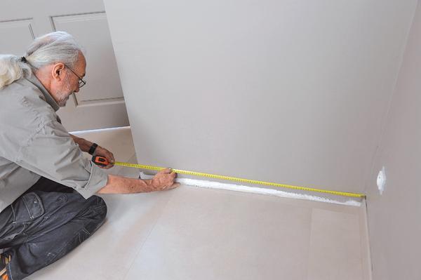 Poser des dalles au sol-bricolage avec robert-52