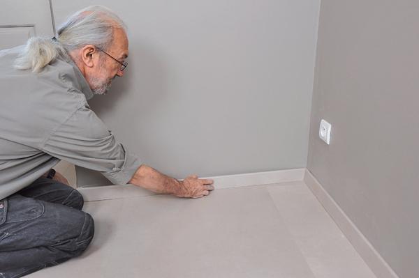 Poser des dalles au sol-bricolage avec robert-53