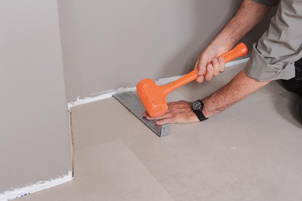 Poser des dalles au sol-bricolage avec robert-55