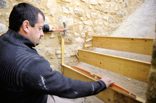 escalier en pierre-52-Bricolage avec Robert