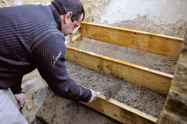 escalier en pierre-56-Bricolage avec Robert