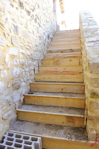 escalier en pierre-58-Bricolage avec Robert