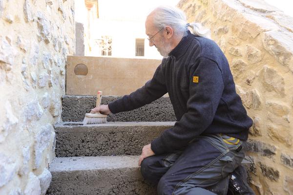 escalier en pierre-65-Bricolage avec Robert
