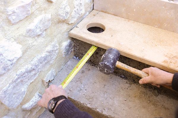escalier en pierre-75-Bricolage avec Robert