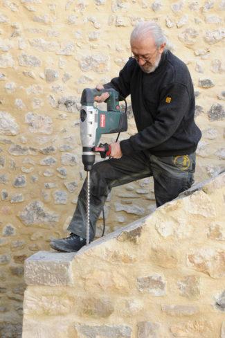 escalier en pierre-99-Bricolage avec Robert